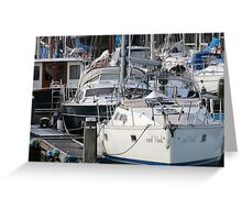 The Recreational Harbor II Greeting Card