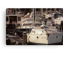 The Recreational Harbor I Canvas Print