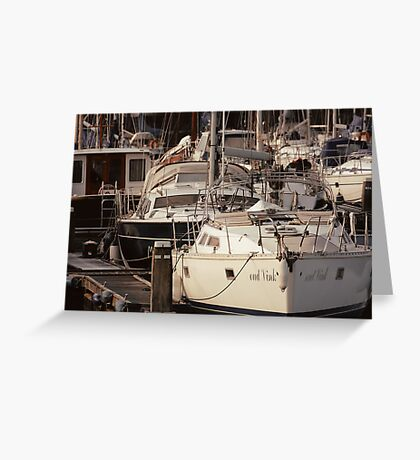 The Recreational Harbor I Greeting Card