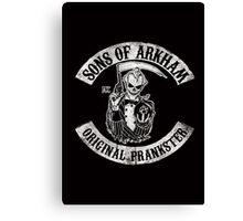 Sons Of Arkham STICKER, PRINT, I PAD, PHONE Canvas Print