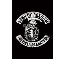 Sons Of Arkham STICKER, PRINT, I PAD, PHONE Photographic Print