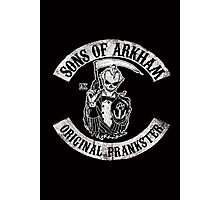 Sons Of Arkham STICKER, PRINT, I PAD, PHONE Photographic Print