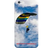 SKYDIVE CORNWALL iPhone Case/Skin