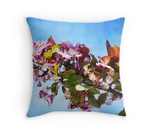 Spring in Bloom~just not here Throw Pillow