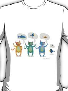 3 Cats T-Shirt