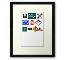 Lord of the Road Framed Print