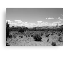 Black and White Kodachrome State Park,Utah,USA Canvas Print
