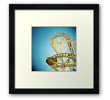 Yellow Fun Framed Print
