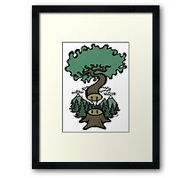 Plug In Tree Framed Print