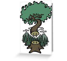 Plug In Tree Greeting Card