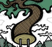 Plug In Tree Sticker