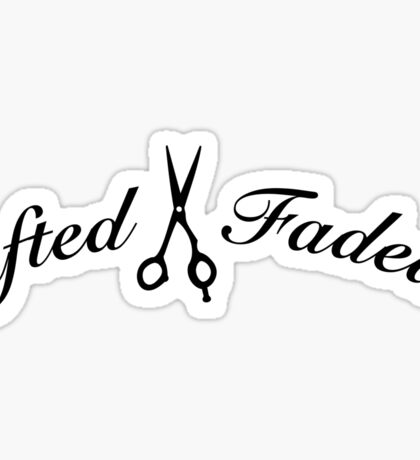 Gifted X Faded  Sticker