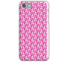 Heart Wahle Checkered Pattern iPhone Case/Skin