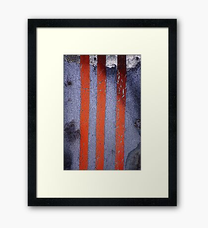 iii is the magic number Framed Print