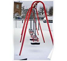 Swings in the Snow Poster