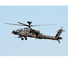 Apache Helicopter Photographic Print