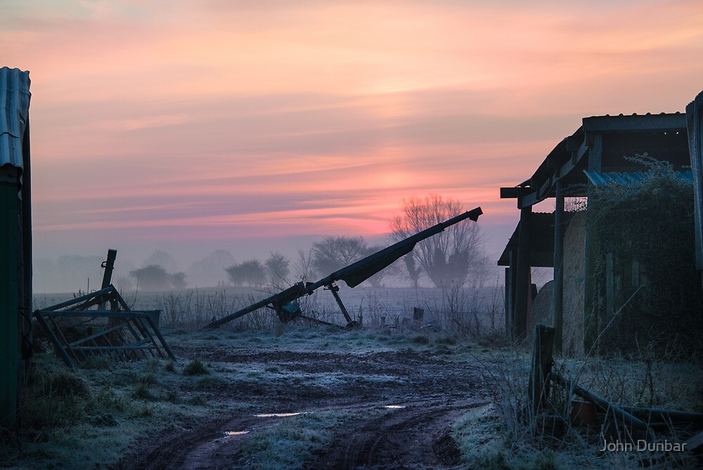 Dawn on the Farm by John Dunbar