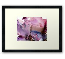 Clouds into Water 1 Framed Print