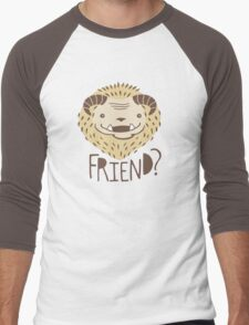 Friendly Beast Men's Baseball ¾ T-Shirt