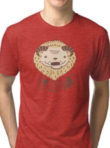 Friendly Beast Tri-blend T-Shirt