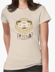 Friendly Beast Womens Fitted T-Shirt