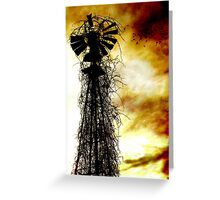 Shadows of the past Greeting Card