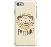 Friendly Beast iPhone Case/Skin