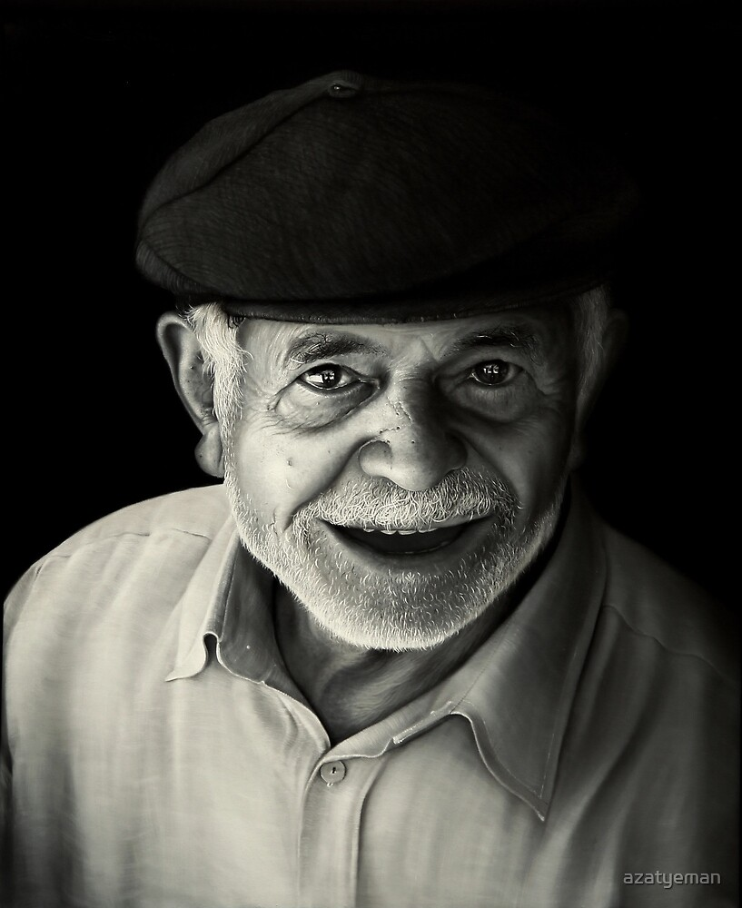 old man by azatyeman