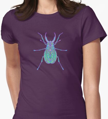Iridescence Womens Fitted T-Shirt