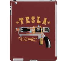 The Tesla - Not Standard Issue iPad Case/Skin
