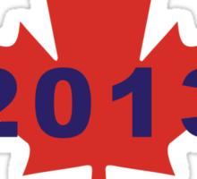 Canada Day 2013 Sticker