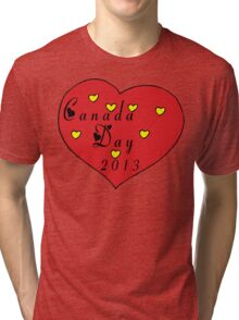 Canada Day 2013 Tri-blend T-Shirt