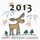 Happy Birthday Canada 2013 by HolidayT-Shirts