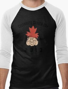 Canada Day 2013 Eh Men's Baseball ¾ T-Shirt