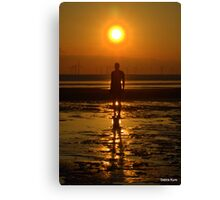 Iron Man at Sunset Canvas Print