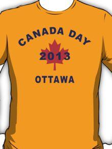 Canada Day 2013 Ottawa T-Shirt