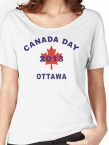 Canada Day 2013 Ottawa Women's Relaxed Fit T-Shirt