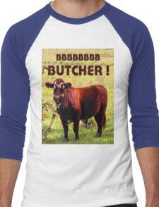 BUTCHER Men's Baseball ¾ T-Shirt