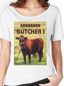 BUTCHER Women's Relaxed Fit T-Shirt