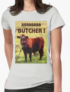 BUTCHER Womens Fitted T-Shirt