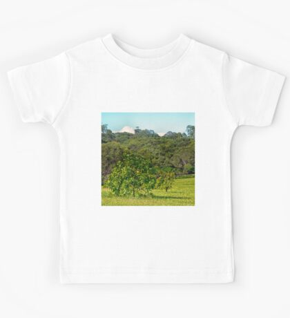 Fruit tree on a rural property Kids Tee