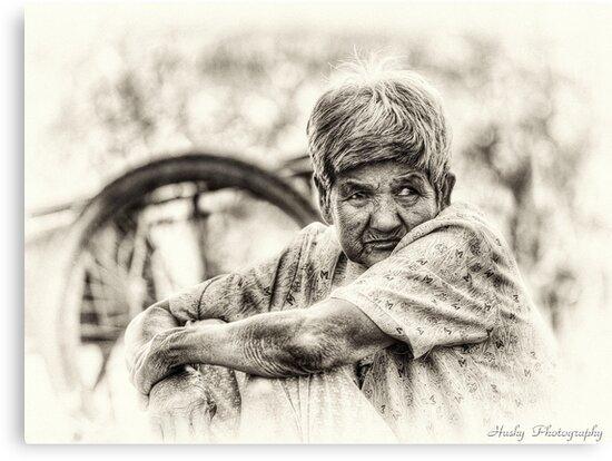 The Old Lady by Husky