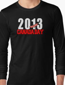Canada Day 2013 Long Sleeve T-Shirt