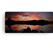 ©HCS Silly Red Sunset Canvas Print