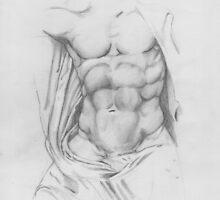 Study: Torso of Zeus by Aakheperure