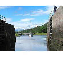 Entering Gairlochy Lock...............Scotland ! Photographic Print