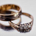 Wedding rings by Martyn Franklin