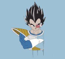 Dragon Ball Z Vegeta Bust T-Shirt