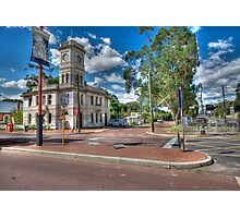 Post Office Crossing  Photographic Print