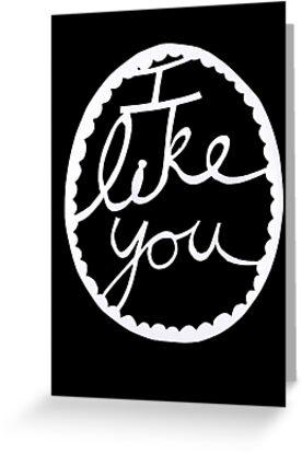 I like you by jadelaura